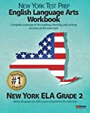 NEW YORK TEST PREP English Language Arts Workbook, New York ELA, Grade 2, Test Master Press New York Staff, 1478215968
