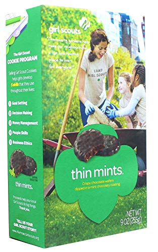 (Girl Scout Thin Mints Cookies (32 per box))