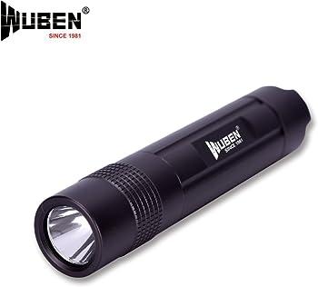 Wuben T-349 Waterproof 600mAh Rechargeable Led Flashlight