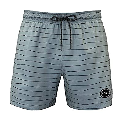 "Kove Nomad Swim Trunks Recylced Men's Quick Dry 4 Way Stretch 18"" Swimsuit"