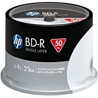 HP BLU-RAY BD-R 6X 25GB 50Lİ CAKE BOX PRINTABLE