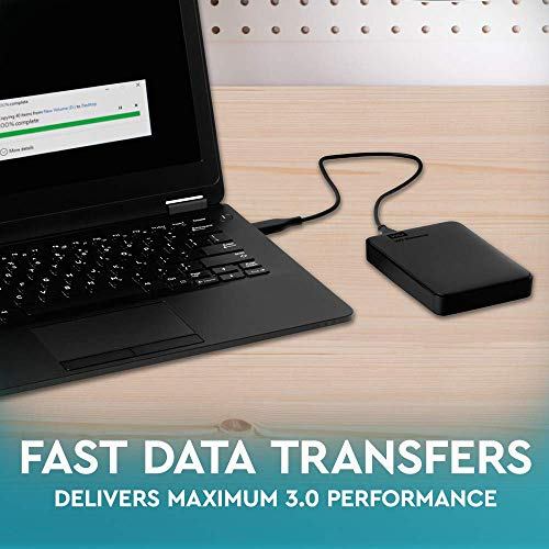 Western Digital Elements Portable, externe Festplatte - 2 TB - USB 3.0 - WDBU6Y0020BBK 4