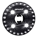 HEYMA Patio Umbrella Light Cordless 28 LED Lights with 3 Brightness Modes, Battery Operated Umbrella Pole Lights for Umbrella, Camping Tent, Outdoor Review