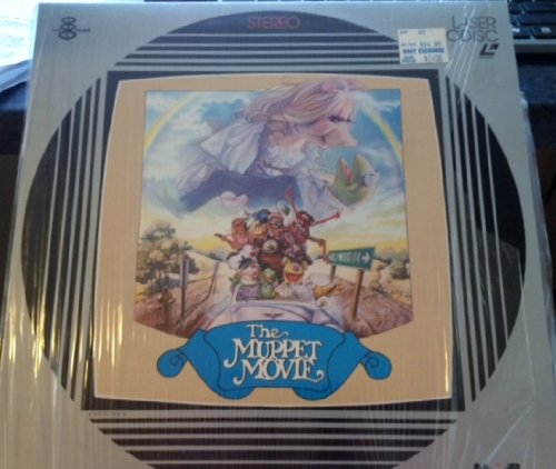 The Muppet Movie Laserdisc not DVD or VHS. Must have a laserdisc player to use. A laserdisc is the size of an LP record, almost 12 inches in diameter.""