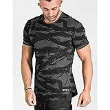 RCD Online Mens Fitness Bodybuilding Camouflage Brand Zipper Patchwork Sweatpants - Gray, XL