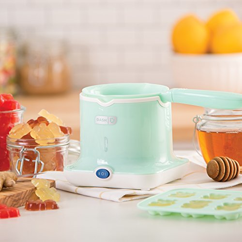 Dash DGCM001AQ Easy Candy Maker with High and Low Temperature Setting Chocolate, Gummies and More, Aqua by Dash (Image #1)