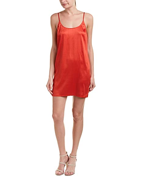 5e4673bf08a Amazon.com: French Connection Womens Afia Crinkle Sleeveless Slip Dress:  Clothing