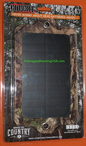 Covert Scouting Solar Panel for 2014-2017 Game Trail Cameras by Covert Scouting Cameras