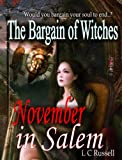 November in Salem: The Bargain of Witches by L.C. Russell front cover