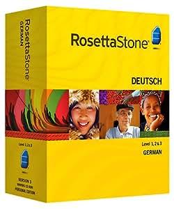 Rosetta Stone V3: German Level 1-3 Set with Audio Companion [OLD VERSION]