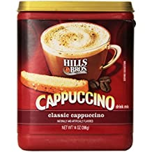 Hills Bros., Classic Cappuccino, 14oz Canister (Pack of 3)