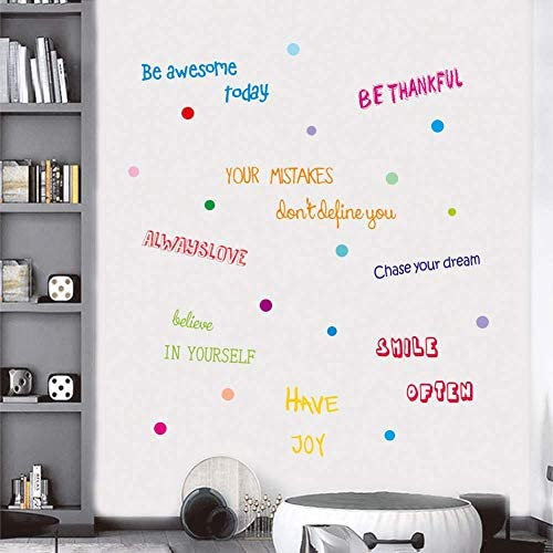 IARTTOP Inspirational Motivational Decoration Multicolor product image