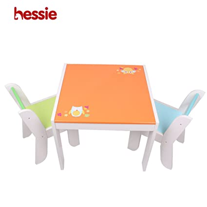 330c8460a0d04 Image Unavailable. Image not available for. Color  Hessie Little Toddler  Kids Activity Play Table Chair Set ...
