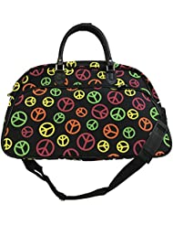 Carry-On Shoulder Tote Duffel Bag | 21 inch Gym or Dance Bag by Unique Traveler