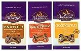 Old Mother Hubbard All Natural Oven-Baked Mini Dog Biscuits 3 Flavor Variety Bundle: (1) Old Mother Hubbard Classic BacNCheez, (1) Old Mother Hubbard Classic P-Nuttier, and (1) Old Mother Hubbard Classic ChickNApples, 5 Oz. Ea. (3 Bags Total) Larger Image
