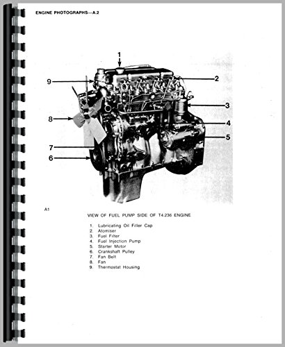 amazon com perkins a4 236 engine service manual 0739718132252 rh amazon com Perkins 4.236 Babes Perkins 4.236 Water Pump