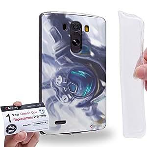 Case88 [LG G3] Gel TPU Carcasa/Funda & Tarjeta de garantía - Overman King Gainer 2036