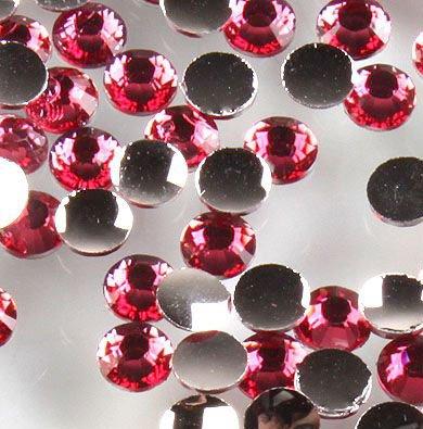 Pink Acrylic Rhinestone - 8