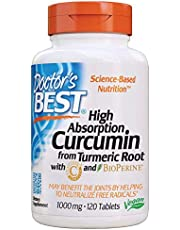 Curcumin from Turmeric Root with C3 Complex & BioPerine, Non-GMO, Gluten Free, Soy Free, Joint Support, 1000 mg, 120 Tablets - 1