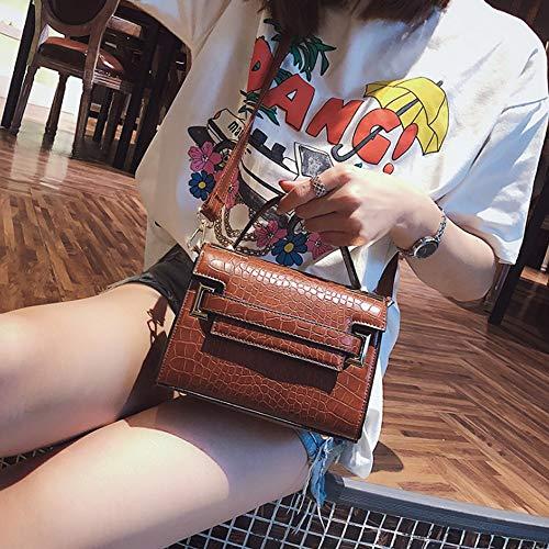 Salvaje D Hong Tai Mujer La Bolso Bolsa Kelly A Moda Xf Atmósfera color Yang Mensajero Simple De 18cmx19cmx14cm YqTTd4w
