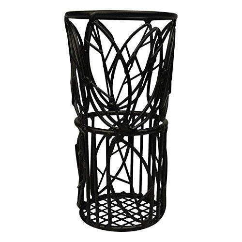 American Metalcraft TBL37 Leaf Design Bread Stick Basket (Leaf Basket Bread)
