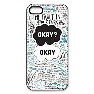 LCJ Funny The Fault In Our Stars Pattern Plastic Hard Case for iPhone 5/5S by ruishername