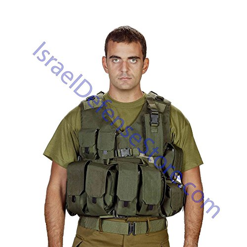 Original Israel Defense Forces Military Army Combat Soldier Vest Surplus New! by ILVEST