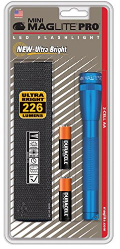 MAGLITE Mini Mag Led Pro Blue (Mini Flashlight Blue Mag)