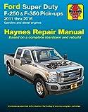 Haynes Repair Manual for Ford Super Duty F-250 & F-350 Pick-ups, '11-'16 (36064)