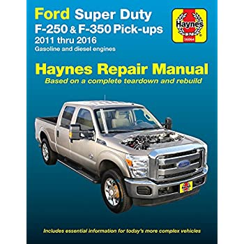 amazon com chilton super duty pick ups excursion 1999 2010 repair rh amazon com Ford Tempo Repair Manual Ford Aerostar Repair Manual