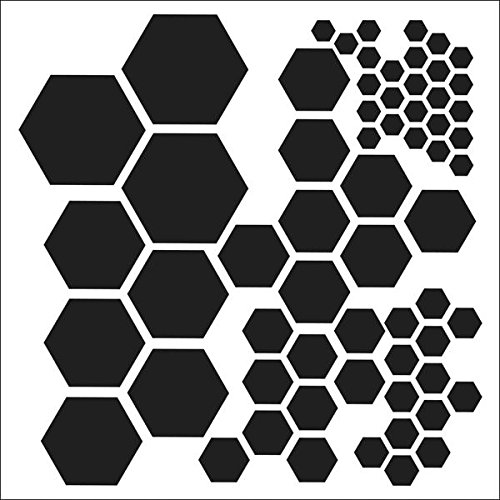 Crafters Workshop Template, 6 by 6-Inch, Hexagons