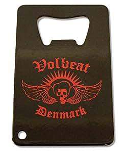 Volbeat Square Black Bottle Opener