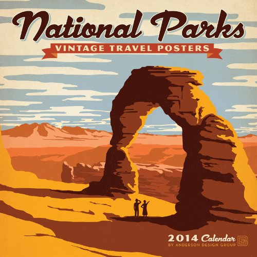2014 National Parks - Vintage Posters Wall
