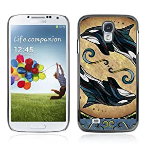 YOYOSHOP [Dolphin Whale Illustration] Samsung Galaxy S4 Case