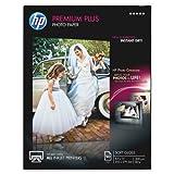 Wholesale CASE of 5 - HP Premium Plus Soft Gloss Photo Paper-HP Photo Paper, 11.5Mil, 8-1/2''x11'', 50 Shts, Soft Glossy/WE