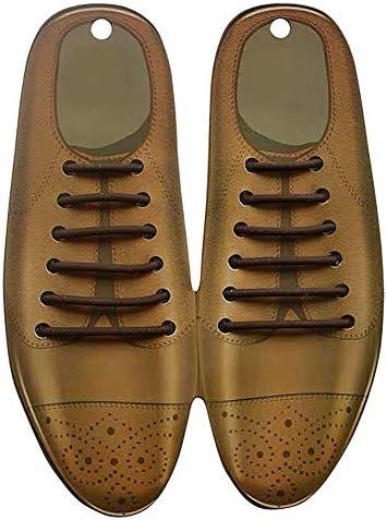 靴紐 革靴 ビジネス 靴ひも 黒 茶 白 ゴム 伸びる 丸紐 結ばない シューレス