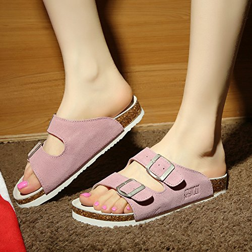 estate di numeri pantofole femmina 37 pantofole grandi rosa tide skid cool anti Uomini fankou coppie ciabatte EWqB0w4T