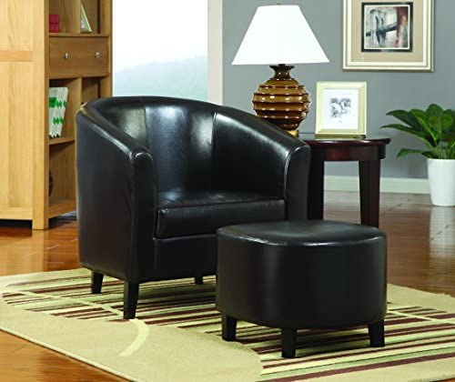 Coaster Home Furnishings Barrel Back Accent Chair