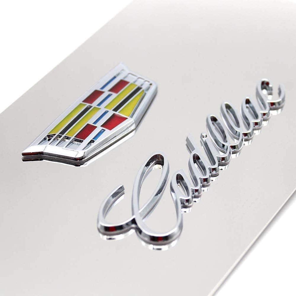 Motors Exterior Accessories 1pcs for Cadillac Emblem+1pcs for ...