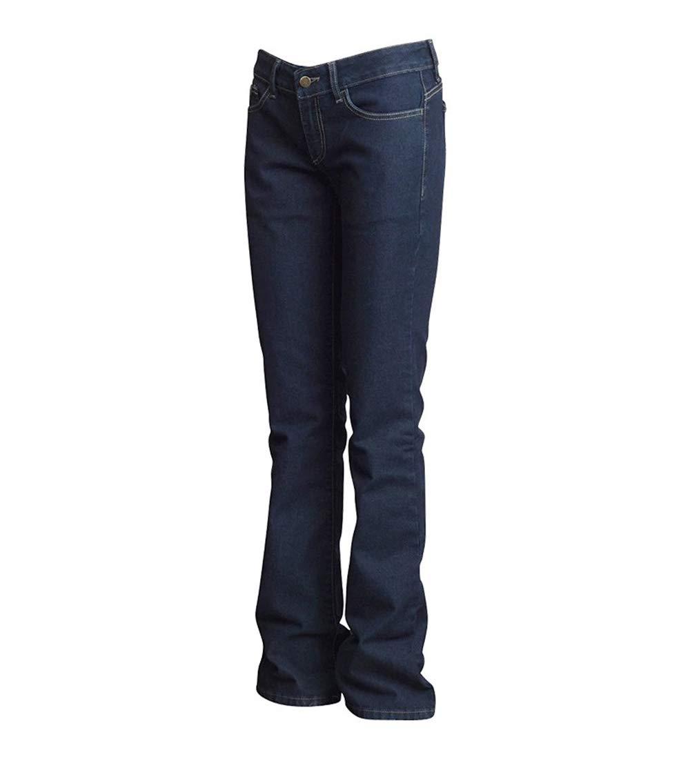 12RG 100/% Cotton Washed Denim Lapco FR L-PFRD10C 12RG Ladies FR Classic Fit Jeans