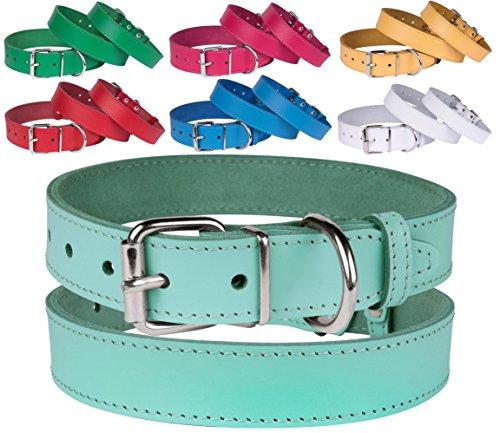 Handmade Leather Dog Collars - 5