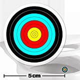 TOILET TRAINING AID For Children Toddlers Boys Funny Bathroom Restroom Potty Urinal Trainer 2 x ARCHERY TARGET STICKERS (5cm)