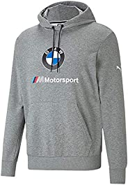 PUMA Mens BMW MMS Essentials Logo Hoodie