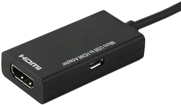 Adaptador de Cable Micro USB Una Nota HDMI MHL Convertidor A HDMI ...