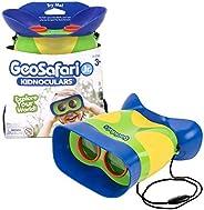 Educational Insights GeoSafari Jr. Kidnoculars Binoculars for Kids, Toddler & Kids Binoculars, Outdoor Pla