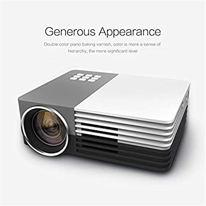 Amazon.com: Mini LED 3D Projector Proyector LCD with Tripod ...