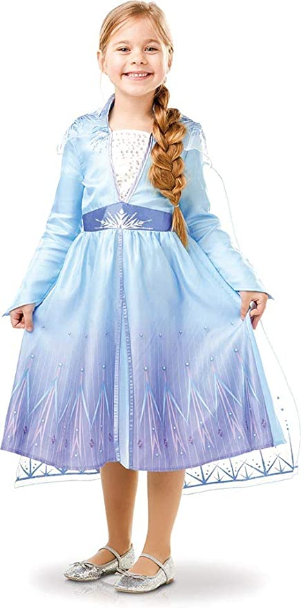 Disney, Elsa Travel Frozen2 Classic - Disfraz de Elsa Travel ...