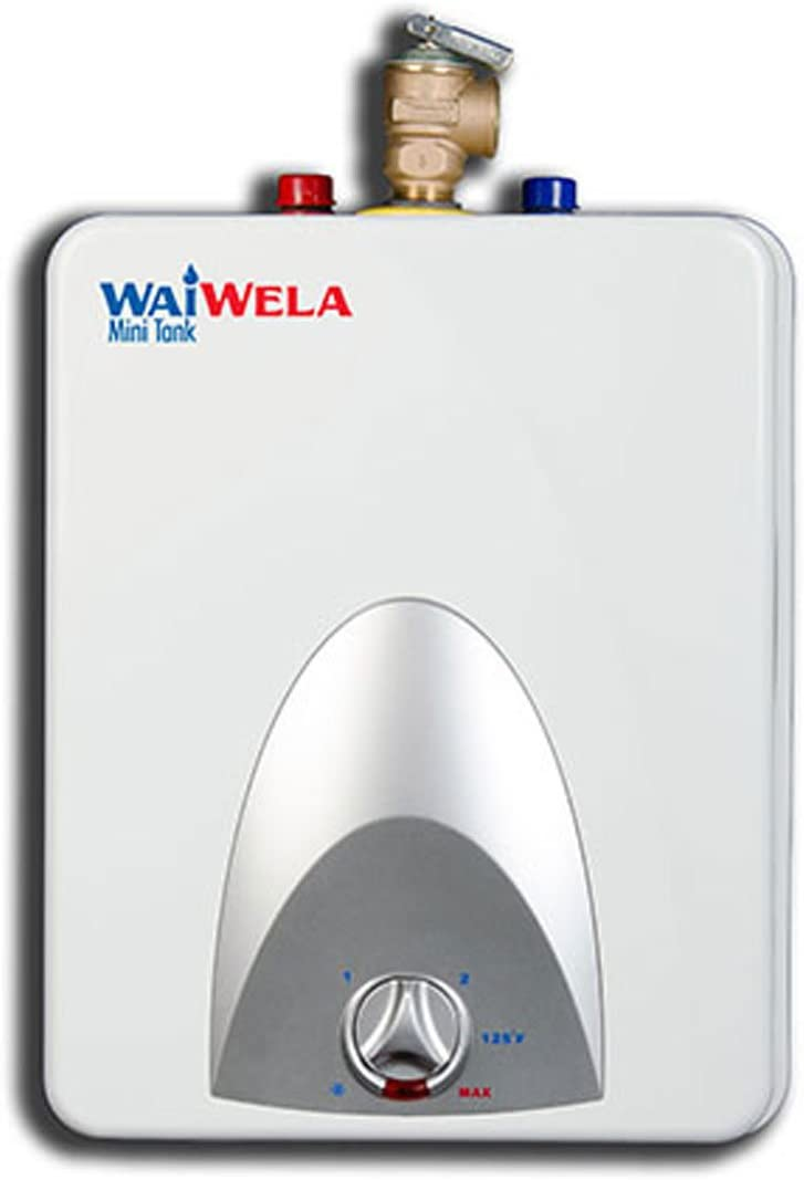 Amazon.com: waiwela wm-2.5 Mini Tanque calentador de agua ...