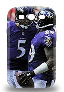 HotNFL Baltimore Ravens Joe Flacco #5 Tpu 3D PC Case Cover Compatible With Galaxy S3 ( Custom Picture iPhone 6, iPhone 6 PLUS, iPhone 5, iPhone 5S, iPhone 5C, iPhone 4, iPhone 4S,Galaxy S6,Galaxy S5,Galaxy S4,Galaxy S3,Note 3,iPad Mini-Mini 2,iPad Air )