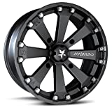 MotoSport Alloys M20 Kore ATV/UTV Wheel with Flat Black Finish (14x7/4x156mm)